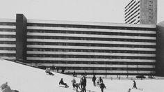 """germanpostwarmodern:  Housing Estate """"Tscharnergut"""" (1958-61) in Bern, Switzerland, by Hans & Gret Reinhard"""