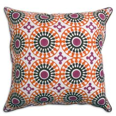 Design your whole bedroom around this pillow and throw a couple of these on your bed! You can do the rest very inexpensively!