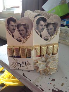 Boda Tutorial and Ideas Wedding Aniversary, 50th Wedding Anniversary, Anniversary Parties, Wedding Day, Candy Bar Wedding, Adult Birthday Party, Wedding Crafts, Tutorial, Party Favors