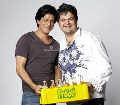 Twitter / DabbooRatnani: Magical Shoot for frooti with iamsrk...