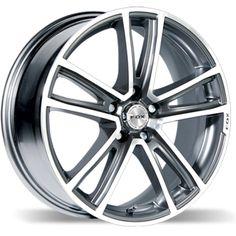 MATT CARBON GREY FOX FX5 alloy wheels #vw #bmw #audi #alloy #wheels #rims http://www.turrifftyres.co.uk
