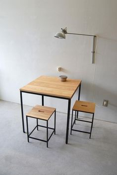 Turn a small dining room into a focal point of your house. Want to realise the potential of your small dining room? or are just stealing a corner from another space in the house, there are lots of things you… Continue Reading → Iron Furniture, Custom Made Furniture, Steel Furniture, Industrial Furniture, Wooden Furniture, Furniture Making, Home Furniture, Small Space Furniture, Simple Furniture