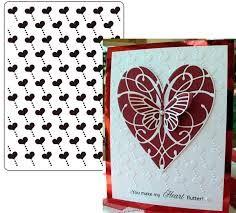 Heart Frame Embossing Folder Forever Swirls Leonie Pujol Folders 5x7 Wedding