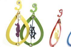 Collezione IDEA Drop Earrings, Jewelry, Jewerly, Jewlery, Schmuck, Drop Earring, Jewels, Jewelery, Fine Jewelry