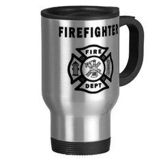 Firefighter Travel Mugs