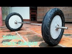 Amazing How to make homemade weight (Barbell)/ for gym at home Home Made Gym, Diy Home Gym, Gym Room At Home, Crossfit Garage Gym, Home Gym Garage, Homemade Gym Equipment, Home Workout Equipment, Gym Workout Videos, Gym Workouts