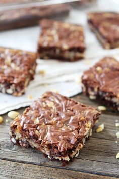 Who can resist the combination of chocolate and peanut butter? Blogger Two Peas and Their Pod shows how to make these tasty bars on Delish Dish: http://www.bhg.com/blogs/delish-dish/2013/04/12/guest-blogger-two-peas-their-pod/?socsrc=bhgpin041613buckeyebars