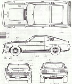 Celica 1977 RA28 | My dad had one of these, in GT trim. This was the car I rode in, coming home from the hospital.