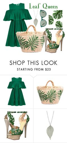 """""""Leaf Queen"""" by bookworm1445 on Polyvore featuring Jovonna, Charlotte Olympia and Prada"""