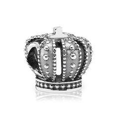 Pandora Royal Crown Charm -   Pandora Royal Crown Sterling Silver Charm.