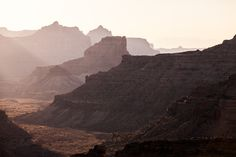Camping at the Little Grand Canyon, Utah