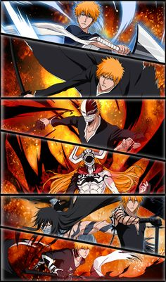 This page features Bleach figures from the popular anime titled Bleach. Bleach Ichigo Hollow, Bleach Manga, Bleach Anime Art, Bleach Fanart, Gin Bleach, Bleach Meme, Shinigami, Manga Art, Manga Anime
