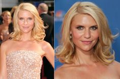 Wedding hairstyle ideas, inspiration from the red carpet- shoulder length all down hair