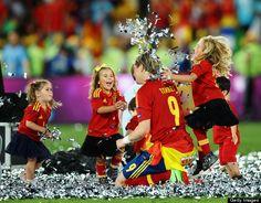 Fernando Torres is a dreamy daddy. euro 2012 kids