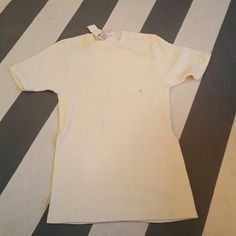 Gap large long tee Ivory long soft tee Size large New with tags GAP Tops Tees - Short Sleeve