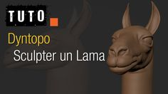 Blenderlounge - Tuto - Sculpter un Lama avec Dyntopo
