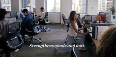 Simple #stretching and exercises you can do at your desk!
