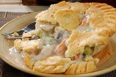 Chicken Pot Pie #Recipe - A Family Favorite! Click for Recipe!
