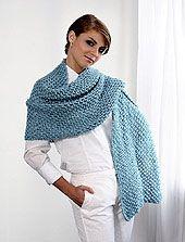 Crochet warm shawl   Craftdrawer Crafts: Knit or Crochet a Shawl and Keep Someone Warm