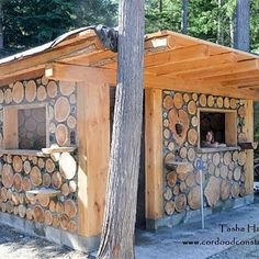 Cordwood chicken coops are the ideal method of protecting your birds and providing warmth and security. Enjoy these pictures of unique cordwood chicken coops throughout North America.