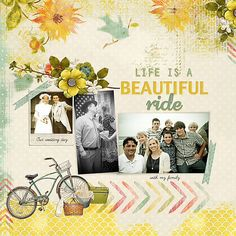 Life is a beautiful ride with my family - Andrea Hutton - Gallery - Scrap Girls Digital Scrapbooking Forum