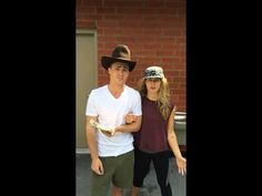 ▶ Colton Haynes & Emily Bett Rickards ALS Donation... - YouTube - watch who was filming the video and watch the end ;)