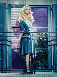 'A Precious Style' by Miles Aldridge for Vogue italia