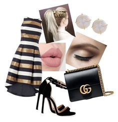 """""""Untitled #132"""" by aleena-ditta ❤ liked on Polyvore featuring Gucci and Melissa Joy Manning"""