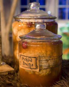 Halloween Decorations-Brain in a Jar!