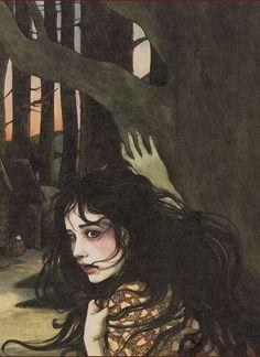 Snow White (detail) / by Trina Schart Hyman