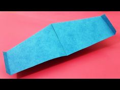 Origami Paper Art: Flying Paper Mini Plane   Easy To Make Flying Pape... Origami Plane, Paper Planes, Origami Paper Art, Toy Craft, Paper Toys, Flower Crafts, Craft Videos, Paper Size, Airplane