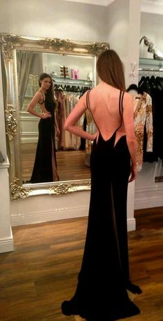Backless Gown - how stunning