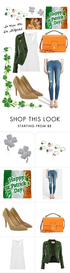 """""""So kiss me, I'm sh!tfaced..."""" by steffyohhh ❤ liked on Polyvore featuring Bling Jewelry, Paige Denim, Dolce&Gabbana, T By Alexander Wang, women's clothing, women, female, woman, misses and juniors"""