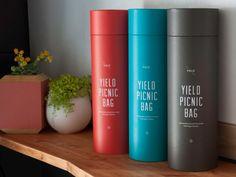 Yield Picnic Bag by Yield Design branding