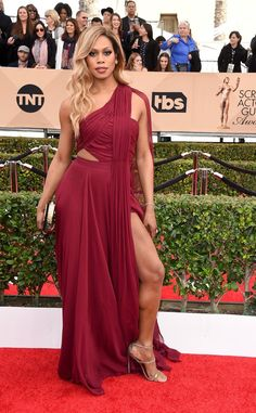 Pin for Later: The Cast of Orange Is the New Black Has the Most Glamorous Night Out at the SAG Awards Laverne Cox