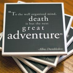 Harry Potter quote coasters :)