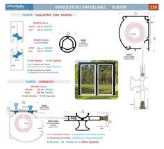 Mosquitero Enrollable Perfiletto ®  Catálogo Virtual Perfiletto