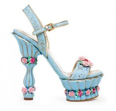 Shoes Dolce Gabbana Winter 2012-2013- These are the most exciting thing I've seen in ages x3.