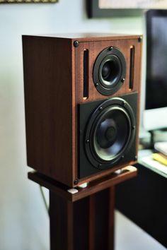 Diy Amplifier, Audiophile Speakers, Hifi Audio, Audio Speakers, Audio Design, Speaker Design, Sound Design, Small Speakers, Monitor Speakers