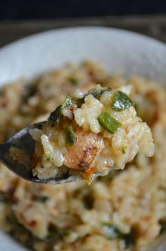 For the Love of Dessert: Spicy Chicken Poblano Ristto
