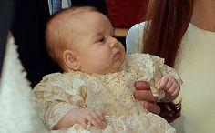 Three-month-old Prince George may have seemed his own little man, but look closely and you will see more strands of the British Royal Family in his chubby face than in any GCSE history course book.