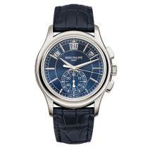 Patek Philippe Annual Calendar Chronograph 5905P Azul Reloj 5905P-001