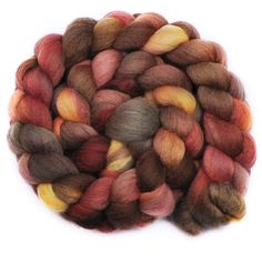 the colours! Falkland fibre for spinning