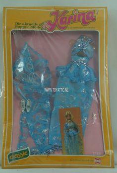 Karina Barbie sized clone doll fashion Top-Modell set by Busch no. 1748 NRFB (8) #busch