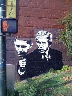 Pátria das Guerras / Banksy. Veja mais em: http://semioticas1.blogspot.com.br/2012/11/banksy-guerra-e-grafite.html