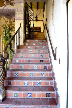 Outdoor Decorative Tiles For Walls Adorable Mediterranean Entrylatin Accents Inc#easypin  Blue And Design Ideas