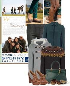 """""""Weekend Wear with Sperry Top-Sider"""" by spenderellastyle ❤ liked on Polyvore"""