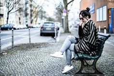 The fringed poncho |  Berlin, Germany - Blog Alina Nois