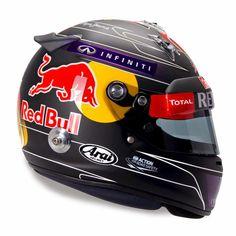 Arai GP-6 S.Vettel Hockenheim 2014 by Jens Munser Designs