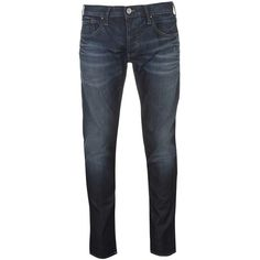 ARMANI JEANS Armani J20 Skinny Mens Jeans (8.535 UYU) ❤ liked on Polyvore featuring men's fashion, men's clothing, men's jeans, mens button fly jeans, mens skinny fit jeans, mens jeans, mens skinny jeans and mens faded jeans